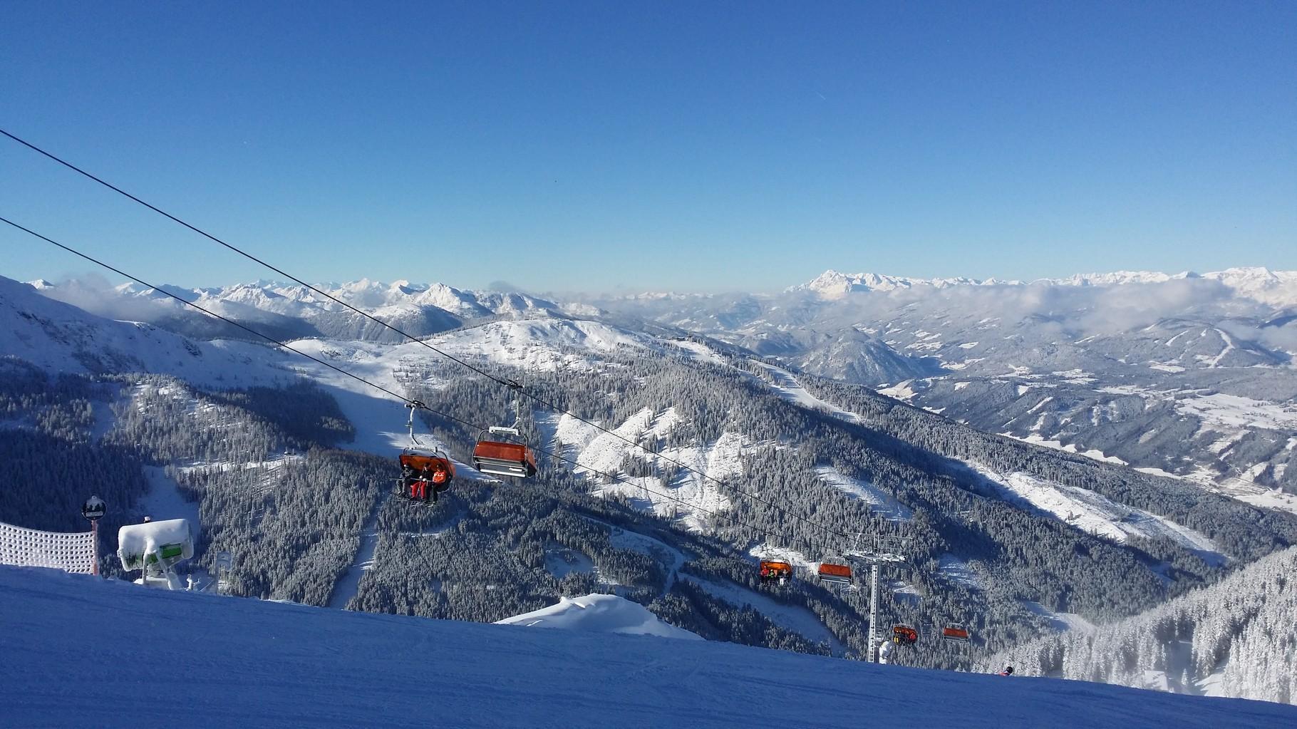 4 Berge Schaukel Schladming-Dachstein