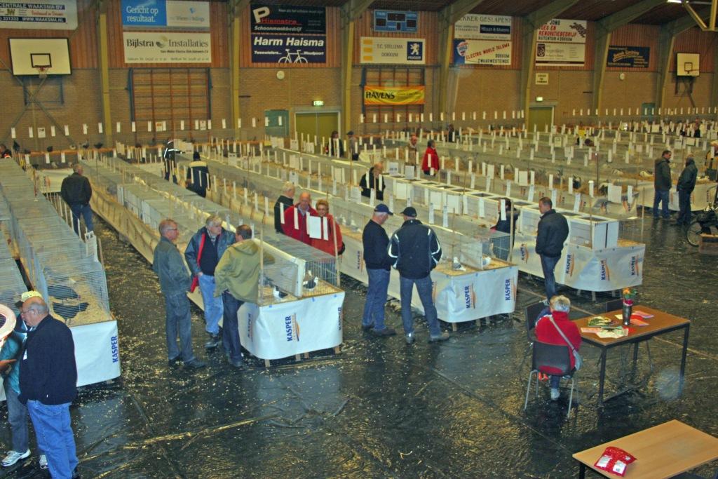 opstelling op de Frieslandshow
