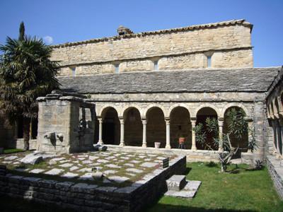 kloostertuin van Roda de Isábena