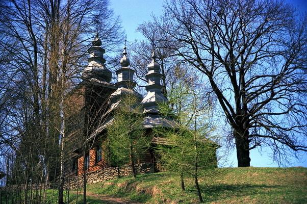 Wojkowa - cerkiew grekokatolicka p.w. św. Kosmy i Damiana. Fot. Cyprian Pawlaczyk