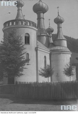 Klimkówka - cerkiew pw. Wniebowzięcia Najświętszej Maryi Panny (1914 rok)
