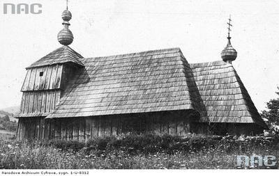 Żydowskie - cerkiew drewniana (lata 1910 - 1939)