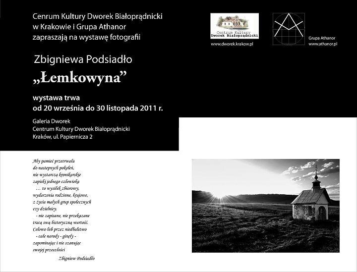Łemkowyna wystawa fotografii Zbigniewa Podsiadło