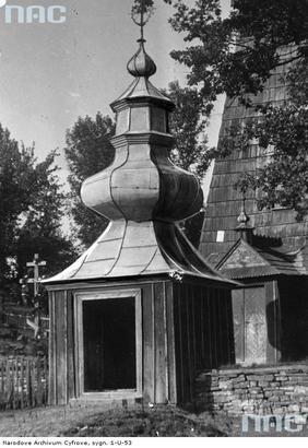 Berest - brama przy cerkwi (lata 1918 - 1934)