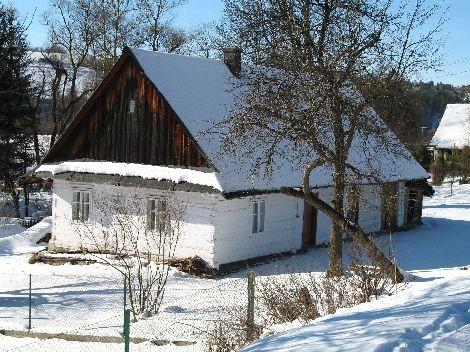 Tradycyjny dom w Wojtkowej. Stan na 2007 rok.