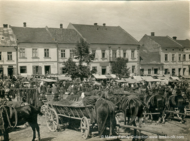 Rynek w Grybowie