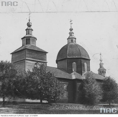 Złockie - cerkiew parafialna pod wezwaniem św. Dymitra (lata 1910 - 1933)