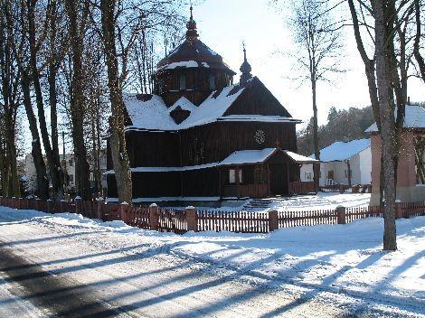 Cerkiew w Wojtkowej, wykorzystywana dziś jako kościół rzymsko-katolicki. To mieszkańcy Wojtkowej ocalili ją przed zniszczeniem. Nawiązuje architekturą do cerkwi huculskich. Styl huculski uznano za narodowy styl ukraiński.
