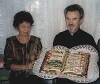 Jubileusz 40-lecia małżeństwa i kapłaństwa, zorganizowany przez parafian