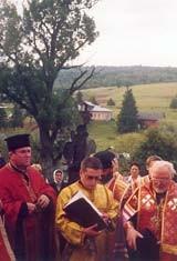 modlitwa na grobie świętego