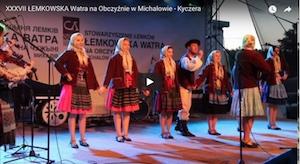 Filmy z Łemkowskiej Watry w Michałowie 2017