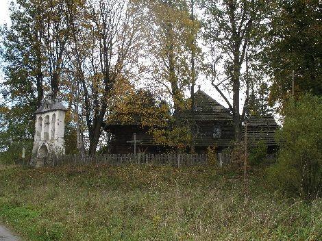 Cerkiew w Liskowatem. Od wielu lat nieczynna, wymaga remontu. Jego zakres przerósł możliwości parafii, więc wybudowano niedaleko mały kościółek murowany. A cerkiew stoi, jak stała…