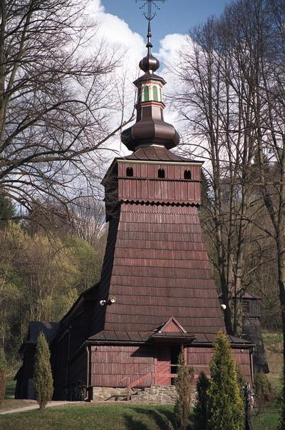 Milik - cerkiew p.w. św. Kosmy i Damiana, greko katolicka, obecnie kościół rzymsko-katolicki. Fot. Cyprian Pawlaczyk