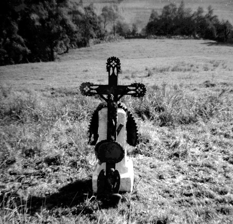 Krzyż w Grabiu. Fot. Dominik Księski