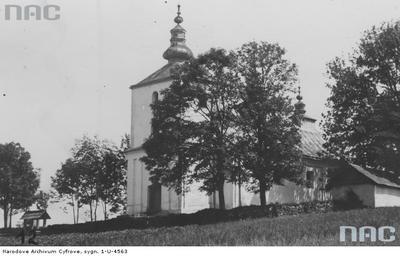 Osławica - murowana cerkiew (lata 1918 - 1939)