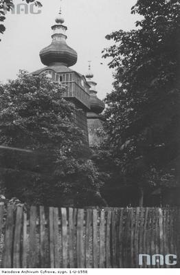 Hańczowa - cerkiew pod wezwaniem Opieki Matki Bożej (lata 1918 - 1939)