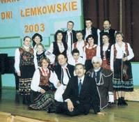 Michał Sandowicz na imprezie Język Łemkowski z Komputerem