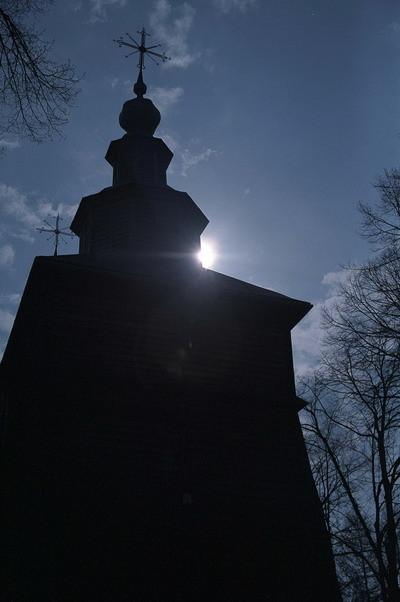 Złockie - Cerkiew p.w. św. Demetriusza Rycerza i Męczennika z XIX w., obecnie kościół katolicki. Fot. Cyprian Pawlaczyk