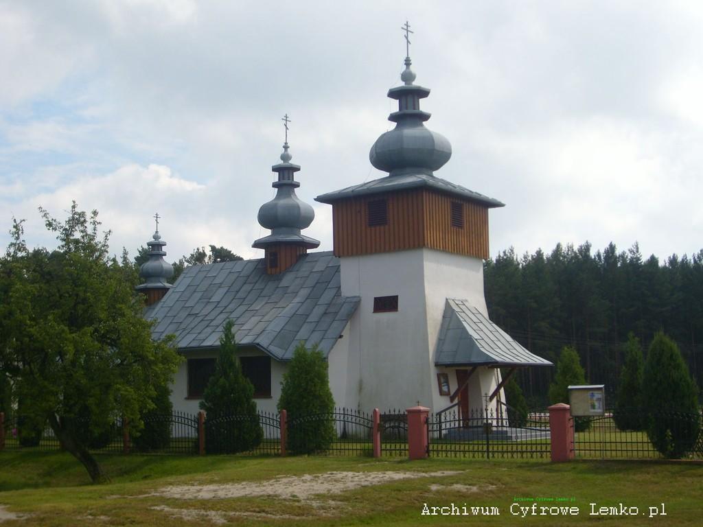 Łemkowska cerkiew w Michałowie