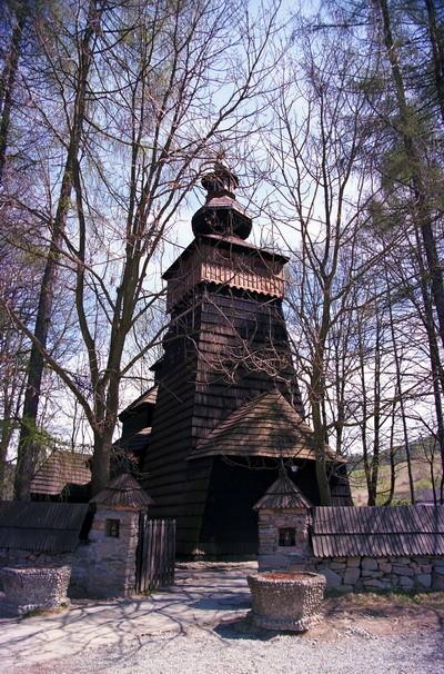 Powroźnik - cerkiew p.w. św. Jakuba Młodszego z 1604 r. Fot. Cyprian Pawlaczyk
