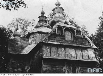 Mszana - cerkiew drewniana (lata 1918 - 1932)