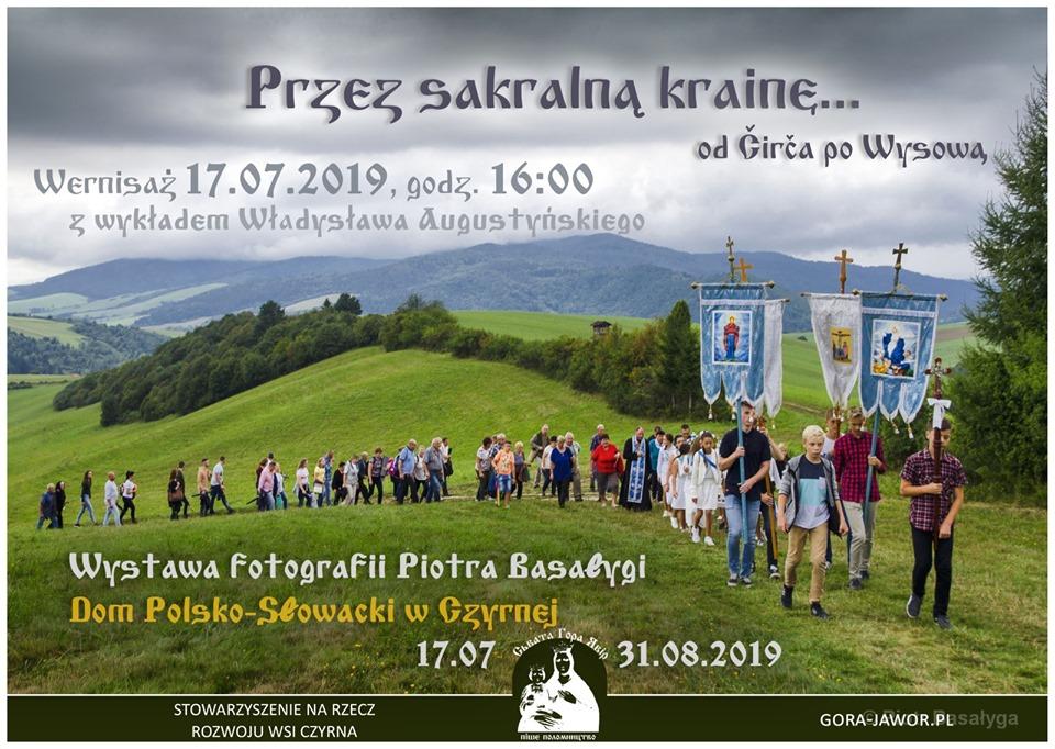 Przez sakralną krainę... Od Čirča po Wysową