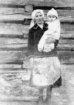 Z matką Warwarą, Piorunka, rok 1940