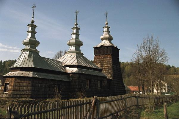 Szczawnik - cerkiew p.w. św. Demetriusza Rycerza i Męczennika z XIX w., obecnie kościół katolicki. Fot. Cyprian Pawlaczyk