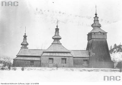 Szczawnik - greckokatolicka cerkiew drewniana (1935 rok)