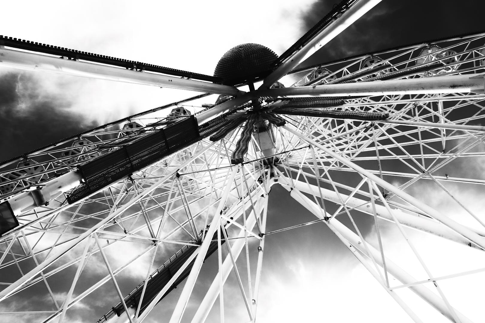 Roesenrad auf Wedeler Hafenfest