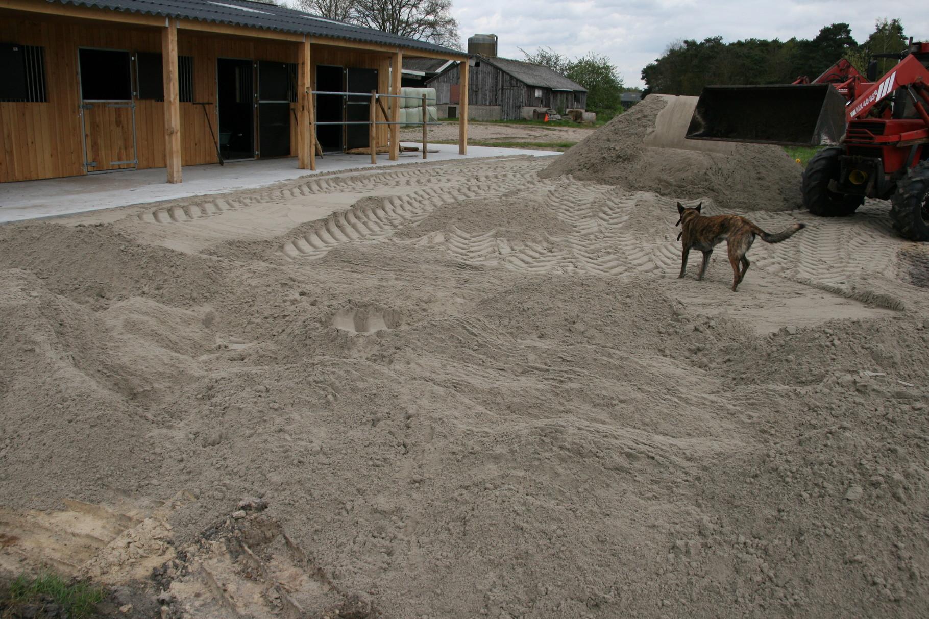 Zand, zand en nog eens zand!