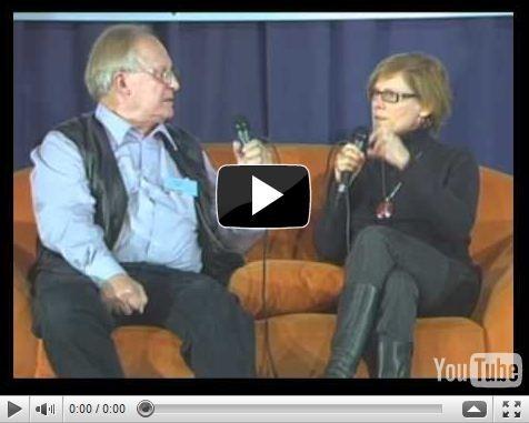 """""""Sofa der Generationen"""" auf dem GMK-Forum 2010 -  Interviewausschnitt mit Tanja Schmidt bei Min. 3.00"""