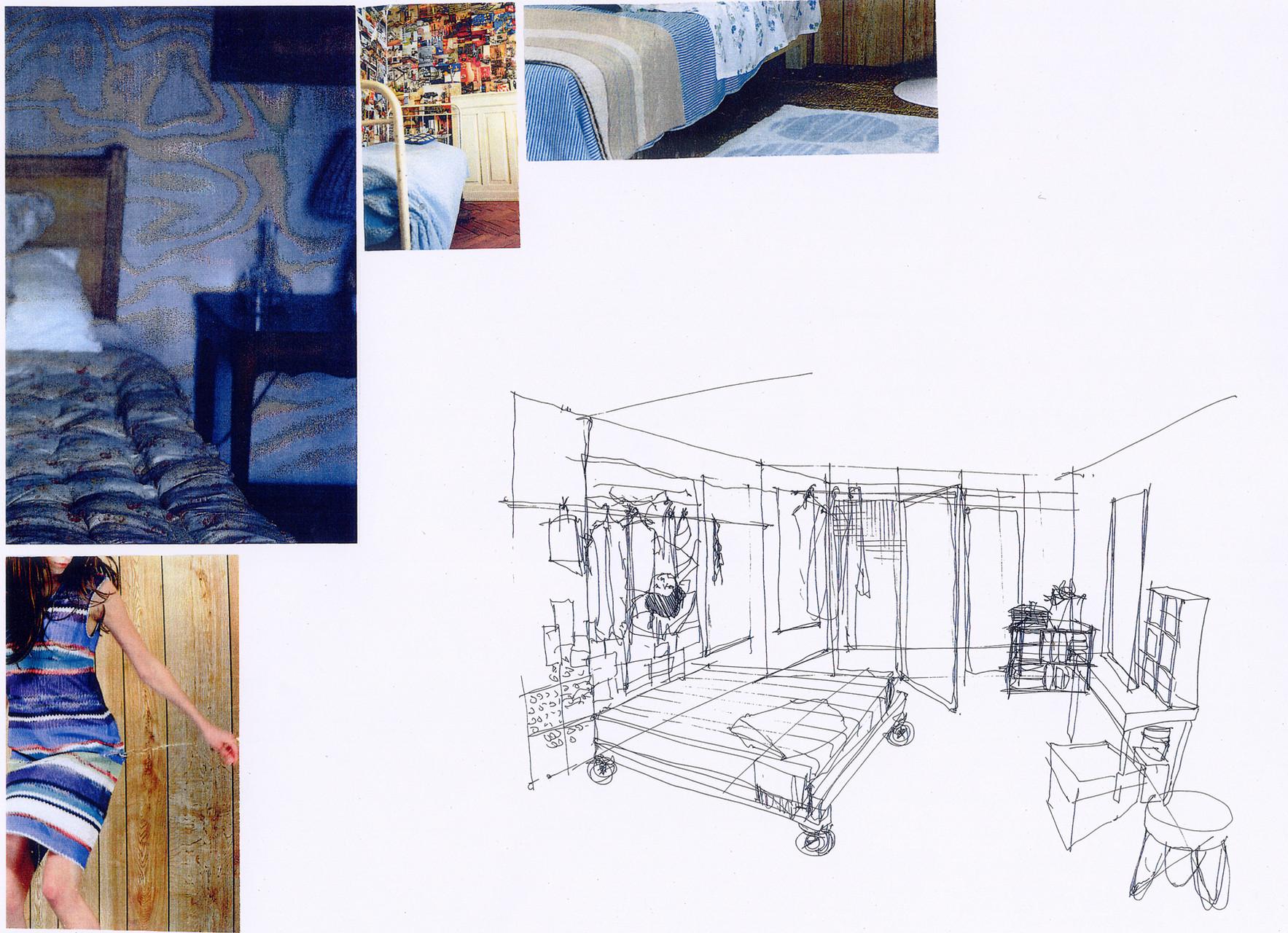 "Entwurf Zimmer Lynn ""In den Tag hinein"" November Film GmbH"