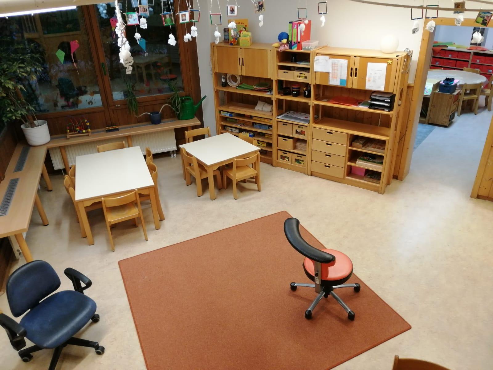 "Gruppenraum Kindergarten ""Hasen"""