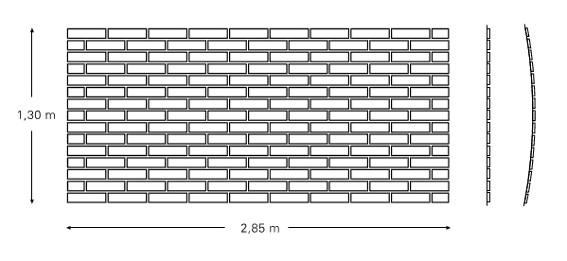 Oberfläche ca. 3,7 m²