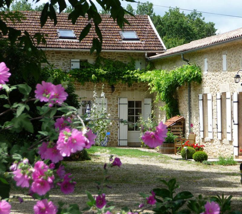 Gîte l'Estebot  Ruch Gironde-facade est