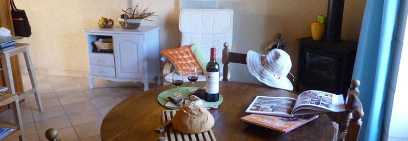 Gîte l'Estebot  Ruch Gironde-séjour