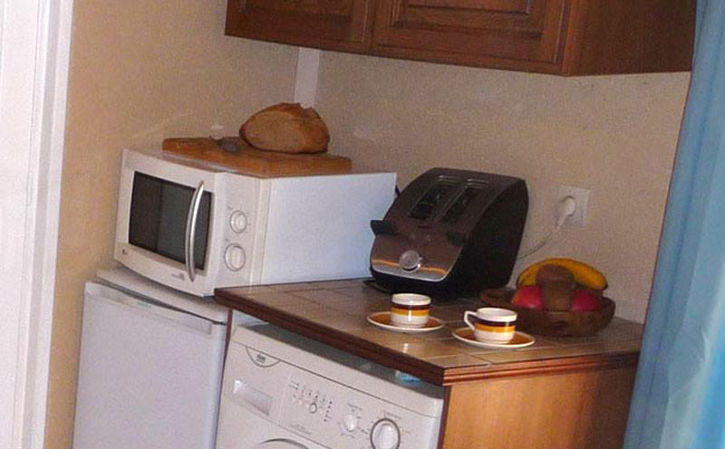 Gîte l'Estebot  Ruch Gironde-cuisine