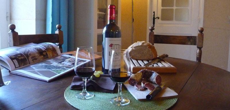 Gîte l'Estebot  Ruch Girondeh-séjour