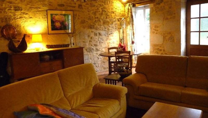 Salon privatif pour les 2 chambres