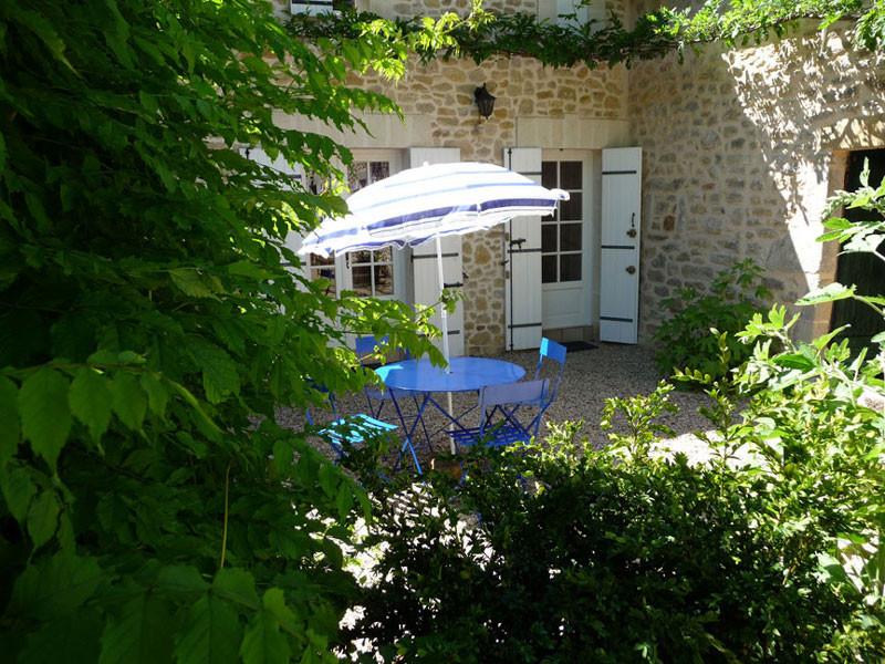 Gîte l'Estebot  Ruch Gironde- façade est