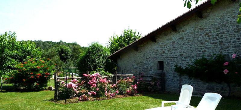 Gîte l'Estebot  Ruch Gironde-façade ouest