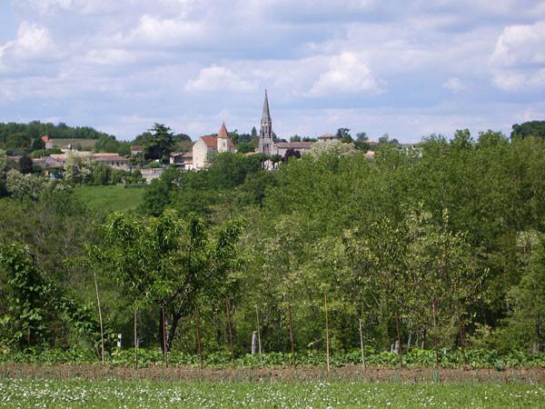 Village Ruch près de Saint-Emilion