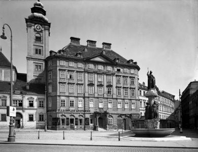 Ausschnitt - Apotheke Freyung 7, Wien 1. Bez.