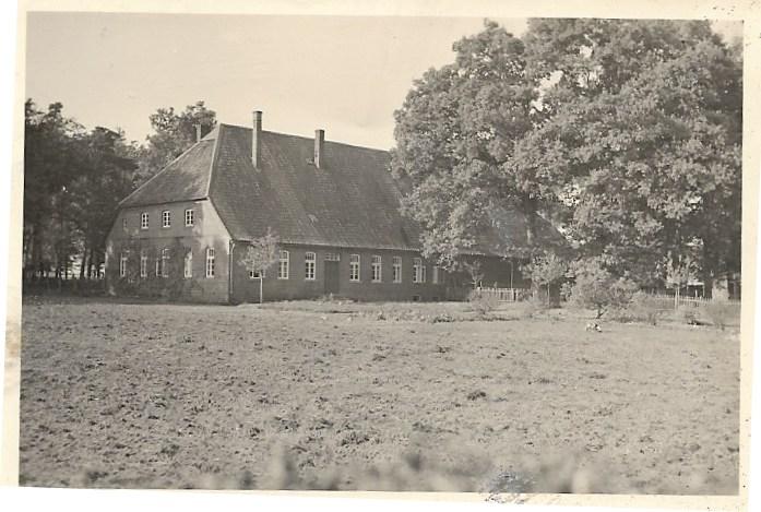 Foto Bauernhaus in der Heide