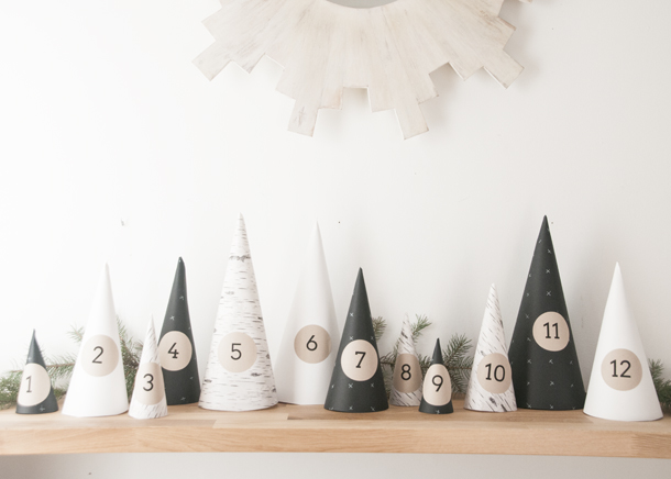 Le calendrier de l'avent du blog Earnest Home Co.