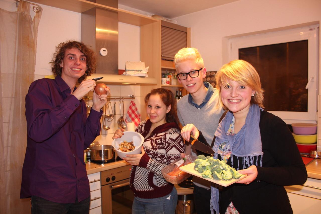 Team 1: Tobias, Julia, Maurice, Sabrina