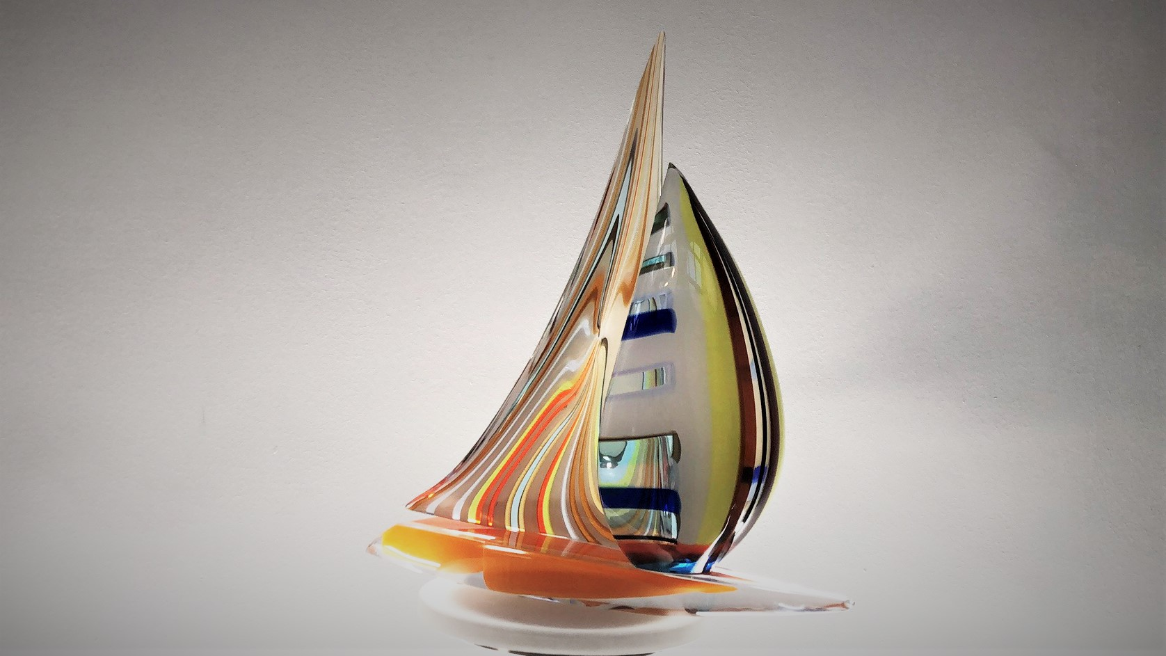 Murano Glass Vase Fili Afro Celotto