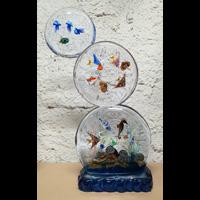 Diego Costantini, Murano Glass Master, Trittico Acquario