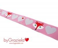 Fuchs Bär rosa 15 mm